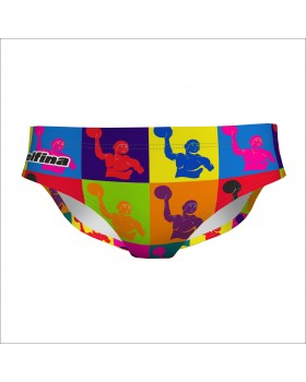 Water polo brief PopArt
