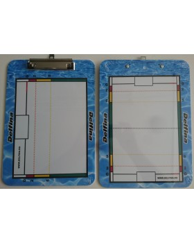 DOUBLE SIDED DRY ERASE CLIPBOARD